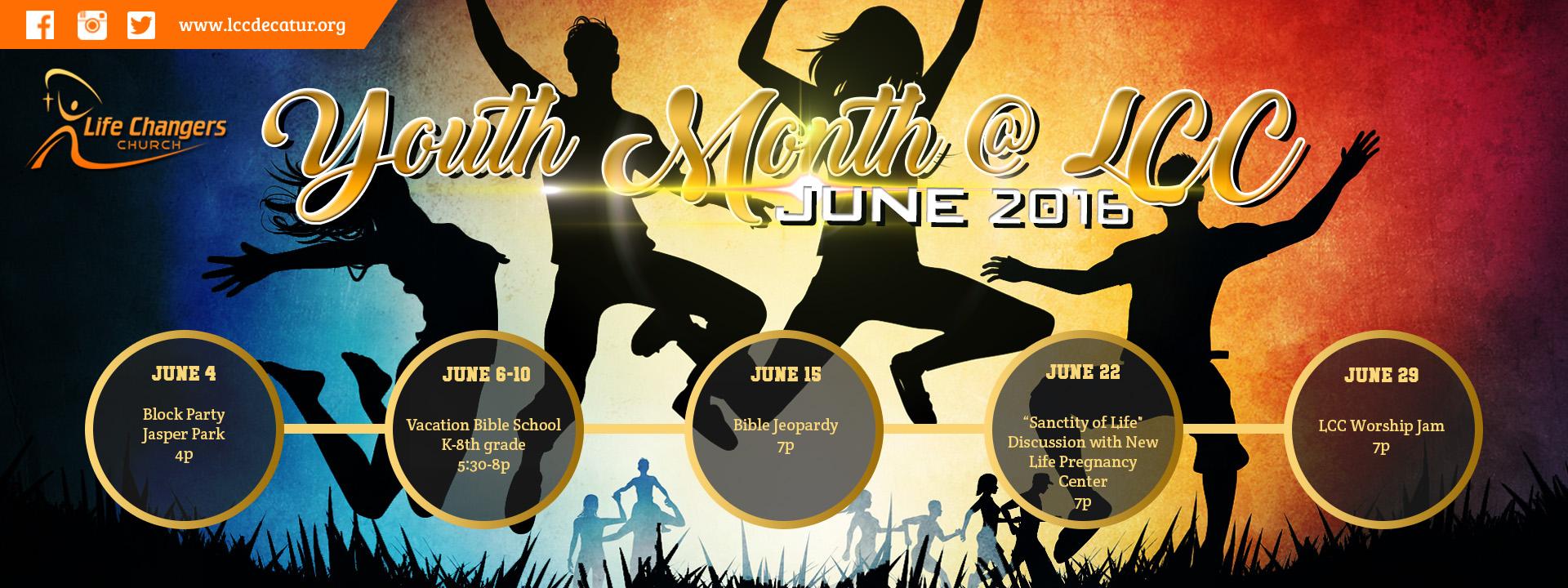 Youth Month Slider